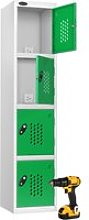 Probe Tool Charging Lockers, Green