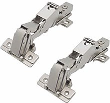 Probrico 1 Pair(2PCS) Soft Close Cabinet Hinges