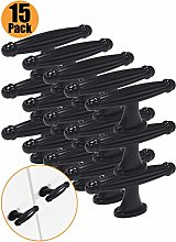 Probrico 68mm Black Drawer Knob Zinc Alloy Single