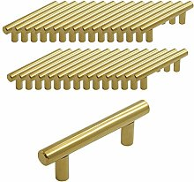 Probrico Gold Stainless Steel 64mm Hole Centers