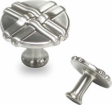 Probrico Round Furniture Drawer Knob PS83062BSN