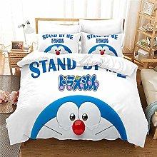 Probuk Doraemon Bed Linen Set 100% Microfibre Bed