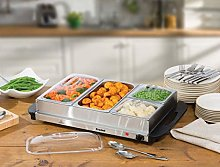 Prochef 4 Portion 300W Stainless Steel Buffet