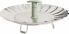 ProCook Collapsible Steamer Basket - 18cm -