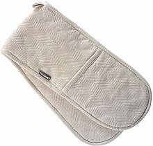 ProCook Cotton Double Oven Glove - Biscuit and