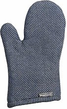 ProCook Cotton Single Oven Glove - Blue and Grey