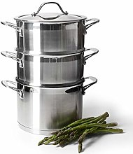 ProCook Professional Stainless Steel Steamer Set -