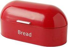 ProCook Retro Bread Bin Oval Red