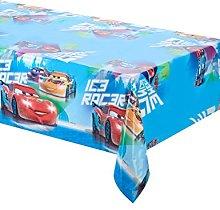 Procos 84838Plastic Tablecloth–Cars Ice