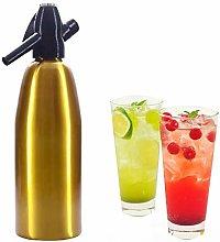 Professional Alloy Soda Siphon Water Maker,1L Soda