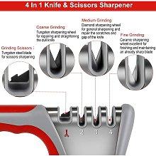 Professional Knife Sharpener, 4 in 1 Kitchen