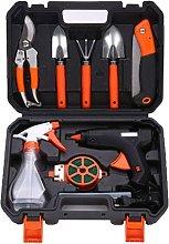 Professional Orange 10 Piece Aluminum Portable