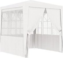 Professional Party Tent with Side Walls 2,5x2,5 m