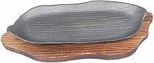 Professional Serving Pans, Unique Shape cast Iron