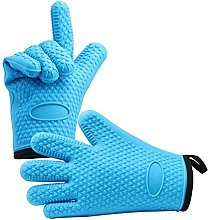 Professional Silicone Oven Gloves with Protective