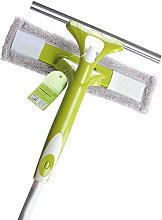 Professional Window Squeegee Cleaner, 2 in 1