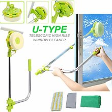 Professional Window Squeegee Cleaner, Glass Dust