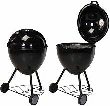 ProGarden Kettle Grill Barbecue 54x92 cm - Black