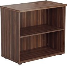 Progress Desk High Bookcase, Dark Walnut, Free