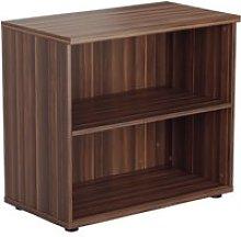 Progress Desk High Bookcase, Dark Walnut