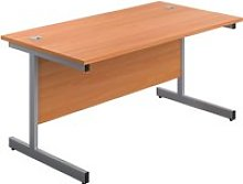 Progress I Rectangular Desk, 160wx80dx73h (cm),