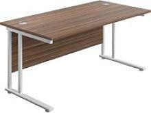 Progress II C-Leg Rectangular Desk, 180wx80dx73h