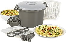 Progressive PS-97GY Microwave Rice/Pasta Cooker,