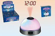 Projection Alarm Clock with 3 Interchanging