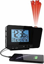 Projection Alarm Clock With Temperature and Dual