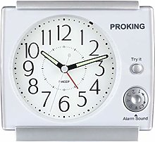 PROKING Alarm Clock Bedside Silent Alarm Clocks