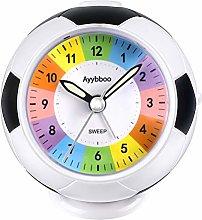 PROKING Alarm Clock for Kids Children Bedside Non
