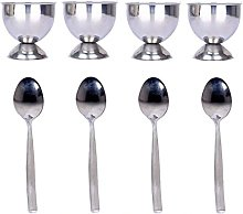 Prokitchen Stainless Steel Egg Cup Set with
