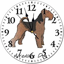 Promini Animals Illustration Airedale Dog Wall