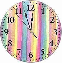 Promini Fashion PVC Wall Clock VI-196 Watercolour
