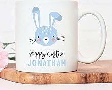 Promini Personalised Easter Gift, Blue Easter
