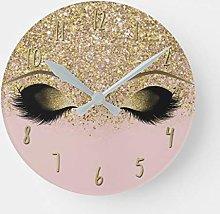 Promini Pink & Gold Glitter Modern Trendy