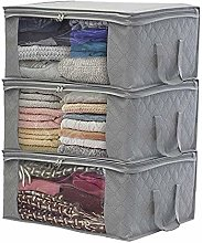 Promise2134 Non-woven Folding Storage Box Foldable