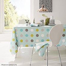 PROMOFLASH83 Calitex Oval Oilcloth Tablecloth -