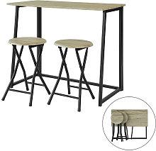 Promotion! !SoBuy Bar Set-1 Folding Bar Table and