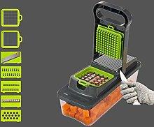 Promworld Adjustable kitchen shredder,Potato