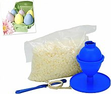 Proops Easter Egg Candle Making Kit, 240g Kerawax