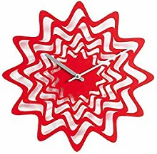 Propegetti Flux Wall Clock, Red, One Size