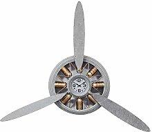 Propeller Engine Style Galvanised Metal Silver