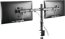 Proper AV Dual Swing Arm Monitor Desk Mount