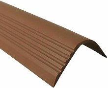 Proper Tools Stair Nosing Non Slip Rubber Angle
