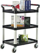 Proplaz 3 Shelf Trolley - 750X460X980MM - Workshop