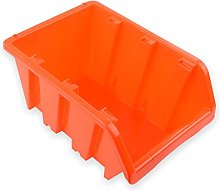 Prosperplast - Stackable Storage Bin Black Size