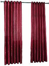 Prosperveil Blackout Curtains Eyelet Satin Thermal