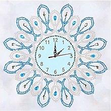 Prosperveil DIY 5D Diamond Painting Flower Clock