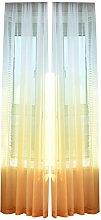 Prosperveil Modern Gradient Colour Voile Curtain